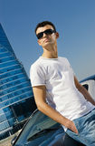 Young handsome man Stock Photography