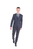 Young handsome man in a classic suit Stock Photography