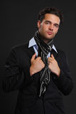 Young handsome man portrait Stock Photography