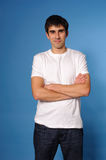 Young handsome man Royalty Free Stock Photos