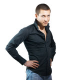 Young handsome men Royalty Free Stock Images