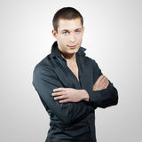 Young handsome men Royalty Free Stock Image
