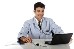 Young handsome Nepalese male doctor Royalty Free Stock Images