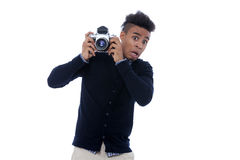Young Handsome Photographer Royalty Free Stock Image
