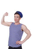 Young handsome sailor Royalty Free Stock Images