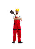 Young handsome worker Stock Photography