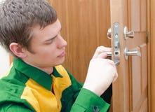 Young handyman Royalty Free Stock Image