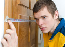 Young handyman Stock Photo