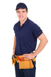 Young handyman Royalty Free Stock Photography