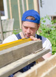 Young handyman Royalty Free Stock Photo