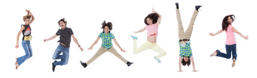 Young Happiness Royalty Free Stock Photo