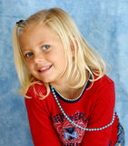 Young and happy. Young girl smiling and posing Royalty Free Stock Photography
