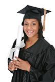 Young Happy African American Female Graduate Stock Photo