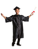 Young Happy African American Male Graduate Student Stock Photos