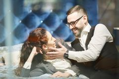 Business romance stock images