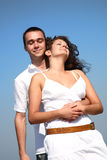 Young happy amorous couple Stock Photo