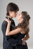 Young happy amorous couple Royalty Free Stock Images