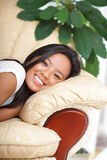 Young happy asian woman Royalty Free Stock Images