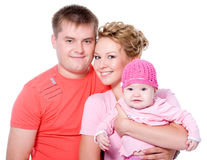 Young happy  beautiful smiling couple Stock Photo