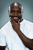 Young Happy Black Man Stock Photography