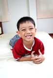 Young happy boy Royalty Free Stock Photography