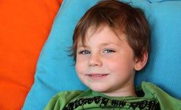 Young happy boy Stock Photos