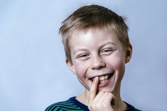 Young happy boy Royalty Free Stock Photos