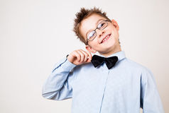 Young happy boy looking at camera. Stock Images