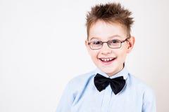 Young happy boy looking at camera. Stock Image