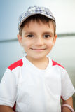Young happy boy looking at camera Royalty Free Stock Image
