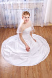 Young Happy Bride Royalty Free Stock Photo