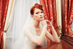 Young happy bride Royalty Free Stock Images