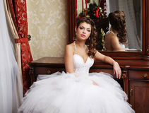 Young happy bride Stock Images