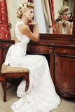 Young happy bride Royalty Free Stock Image