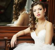 Young happy bride Royalty Free Stock Photography