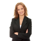 Young happy businesswoman Royalty Free Stock Image