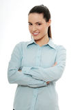 Young happy businesswoman Royalty Free Stock Images