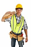 Young Happy Carpenter Stock Photography