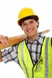 Young Happy Carpenter Stock Images