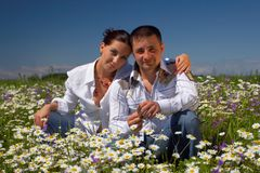 Free Young Happy Couple Royalty Free Stock Photo - 3398335