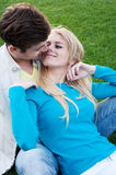Young happy couple in love Royalty Free Stock Photo