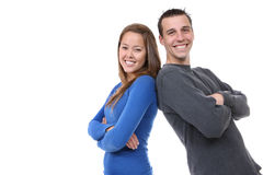 Young Happy Couple in Love Stock Photography