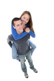 Young Happy Couple in Love Stock Image