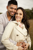 Young happy couple in love. Stock Image