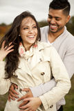 Young happy couple in love. Royalty Free Stock Photos