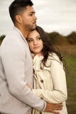 Young happy couple in love. Royalty Free Stock Photo