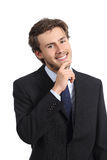 Young happy executive looking confident Royalty Free Stock Photo