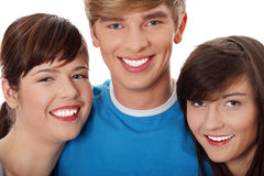 Young happy friends Stock Photo