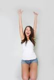Young happy girl Royalty Free Stock Image