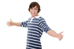 Young happy handsome man Royalty Free Stock Image